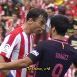 Amorebieta vs Luis Suárez, primer asalto. #ElDíaDespués VÍDEO: https://t.co/1MOHq2U4mn https://t.co/PNVgwAuBAf