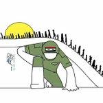 """يوما ما ستكون نشرة الأخبار من ثلاث كلمات""""تم تحرير العراق""""🙏🏻🍃🌹#الحشد_جهه_رسميه https://t.co/3t5EJwb27D"""