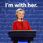 RT this if youre proud to be standing with Hillary tonight. #debatenight https://t.co/91tBmKxVMs