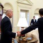 """""""barack please dont leave me with them"""" """"joe youre leaving when I leave"""" """"oh right lmao love u"""" https://t.co/ar8N35ixYL"""