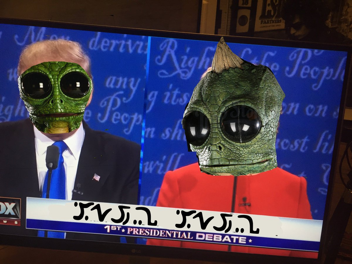 Holy SHIT did anyone see them bigly transform into reptiles? https://t.co/WKYB6w5DkJ