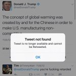 The @realDonaldTrump campaign is deleting tweets during the debate that conflict with his on-air claims. https://t.co/gBwHNlYEkm
