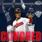 Cleveland clinches! Indians win their 1st division title since 2007. https://t.co/iXECUeZ1jw