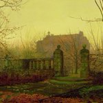 Autumn Morning by John Atkinson Grimshaw - late 1800s (Private Collection) https://t.co/D8YleUkwka