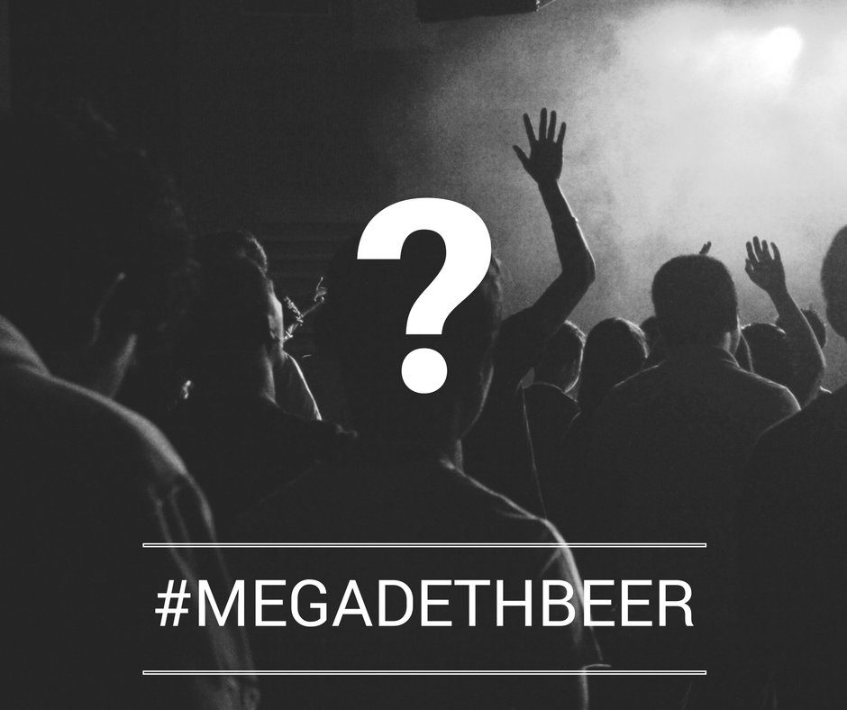 Only 10 days before you find out where to taste the one and only #MegadethBeer while partying with @DaveMustaine. https://t.co/NbWCgiBOP8