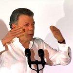 """📺 @JuanManSantos: """"Colombianos: cesó la horrible noche"""" #PazenColombia https://t.co/CjVe9IU1LB https://t.co/jA17SIRZ6h"""
