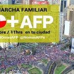 Si Ya fuimos mas de 1,5 millones marchando De todos depende q en la 3ªMarcha #NOmasAFP seamos 2 millones Movilizados https://t.co/lbMAlQmk6N
