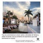 Ban Ki-moon: ¡Viva la Paz! ¡Viva Colombia! ¡Viva Colombia… en Paz! https://t.co/QSyza0rPEd