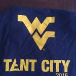 Another free shirt up for grabs. Retweet and follow for a chance to win #WVU #TentCity https://t.co/Qu3cAIaofn