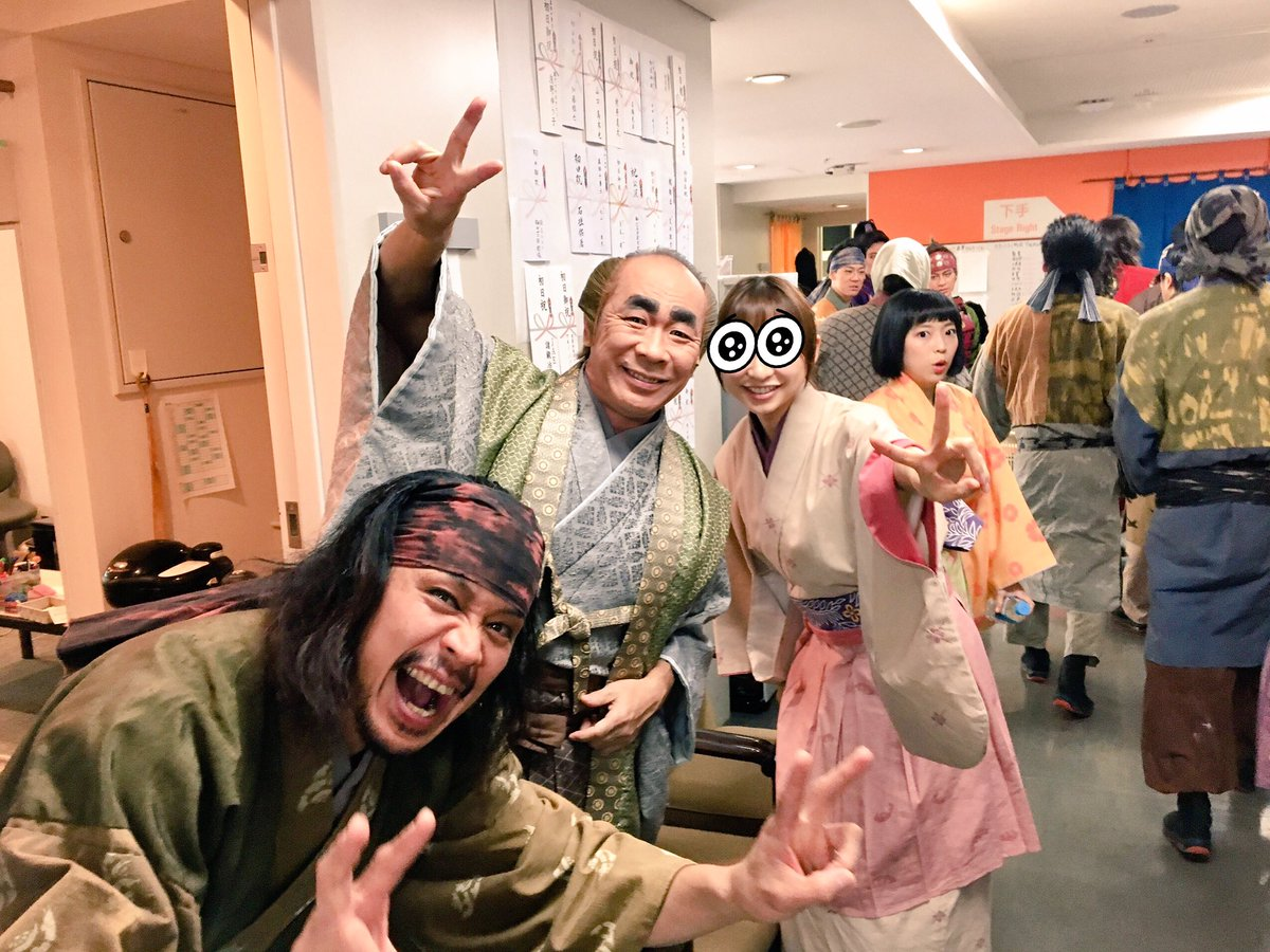 『アニー』の歌オーディションには参加出来ず、次のダンスオーディションで会えるの楽しみにしてます!『真田』は今日も皆んな死闘の二回公演