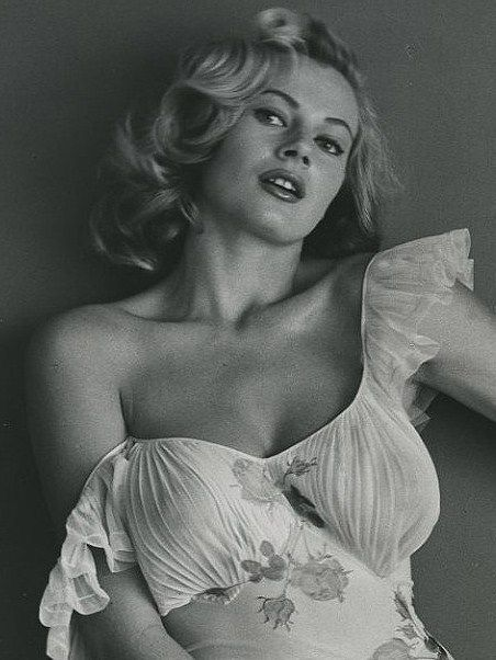September 29 1931 Anita Ekberg Swedish Actress La Dolce Vita
