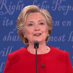 """Trumped Up, Trickle Down is HRCs phrase for the night. #Debate #Debatenight #Debates2016 https://t.co/fTreAcfpmk"