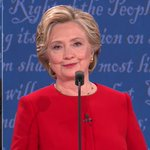 hillary: looks into the camera like shes on the office https://t.co/voySp73zxQ