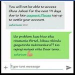When safcom gives free bundles and stop asking okoa payment I will av a reason to say #AirtelShame @AIRTEL_KE https://t.co/aPh0Vc1HF9