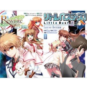 『Rewrite-SIDE:TERRA』と『リトルバスターズ! Last of Refrain』の第1話をComicWa