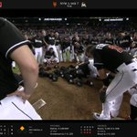 More @Marlins honoring #JoseFernandez #JF16 after win vs Mets. Hats on mound and Manager Don Mattingly kissing the mound https://t.co/H3TBPrw7Vd