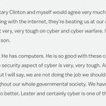 It's even better in transcript form #debatenight https://t.co/Hx7EETK4mf