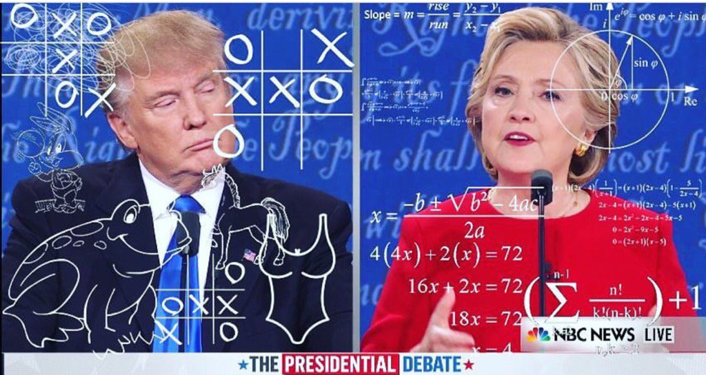 Yup, this pretty much sums it up @JohnLeguizamo @DJD #Debates2016 https://t.co/7MVN3Mohla