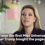 "Donald Trump called her ""Miss Piggy"" and ""Miss Housekeeping.""  Her name is Alicia Machado. #DebateNight https://t.co/0wrISjJe6z"