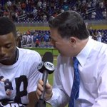 """I dont have kids, so hitting a HR for Jose Fernandez is the best moment of my life"" - Dee Gordon after the @Marlins win. https://t.co/AtU0ZfQkLP"