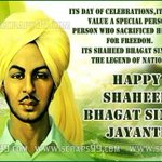 Remembering revolutionary LEGEND Shaheed Bhagat Singh on his birth anniversary YES Bhagat Singh lives in our hearts. #DilVichBhagat https://t.co/kA8iPRFobL