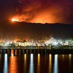 Woah! RT @BillMartinKTVU: Loma Prieta fire form Santa Cruz https://t.co/0mRlOOxRV4