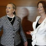 Julia Gillard stands up for Hillary Clinton in the face of ridiculous sexism. https://t.co/0UNDDKbVf0 https://t.co/O7CLDCjnxz