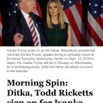 Chicago go shutdown @IvankaTrump when she tries to fundraise in our city Wednesday https://t.co/Keup0eIUvj