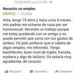 Denigrante que hayan personas así, por favor Rt difusión para que pueda encontrar trabajo. https://t.co/yk9NWb5Sec