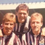 Newcastle United 3 Scottish Internationals 1990 Mark McGhee, Roy Aitken and Neil Simpson #NUFC https://t.co/S4O2mEE49A