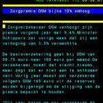 Zorgpremie nu 10% omhoog, niet 3,5% zoals VVD PvdA verklaarden op Prinsjesdag. Heeft Rutte al weer Sorry gezegd? https://t.co/R7snJ0KwDY