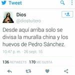 .@diostuitero Tras entrevista a @sanchezcastejon #PedroSánchezenlaSer Informa x favor. Ya no se ve mi la muralla? 😉 https://t.co/eOQgQ0kLXs