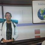 Wageningse professor Willow in de green room voor het college van zondag. Komen jullie ook? @wur @Wetenschap_NL https://t.co/RLBqLjESGm