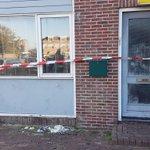 Er is brand geweest in een woning in de Oostslootstraat. Zojuist de nog aanwezige kat uit de woning gehaald. https://t.co/TSXpdj0dmW