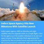 India's Space Agency Hits New Milestone With Satellite Launch https://t.co/uxUJFVw9Ao  via NMApp https://t.co/kPVuo1QLxf