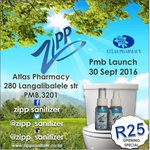 Launching the product out at Atlas Phamarcy 280 Langalibalele Str. PMB #ZippAtAtlas https://t.co/GqNWoo6GRd