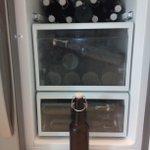 """Unser selbstgebrautes Bier """"WeischwieWeizen"""" ist reif und kommt heute zum Grosseinsatz am Team-Event. Proscht! https://t.co/afeWy7w0d1"""