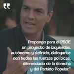 """Este tipo no es el @PSOE pero es el más digno titular A PULSO de sus genes hoy Si SE FUESE el """"@PSOE """"se iría con él https://t.co/U4Qb0tC4Hy"""