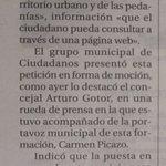 Ciudadanos pide que se amplíe la información cartográfica de la ciudad. Hoy en @TribunaAlbacete. https://t.co/yM4YvdbQWx
