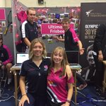 All set up and ready at the Clifton freshers fair! Come and say hi #HelloNTU @NTUSport https://t.co/1UruwFcwkC
