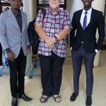 Very great moment as we took a photo with the great writer @MabalaMakengeza #ChangeTanzania Annual Forum 🙌 #DayTwo https://t.co/XnlVIOzQ27
