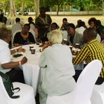 During tea break, we enjoyed the great debate on current politics with prof Adolf and prof @kitilam #ChangeTanzania https://t.co/zqjR0AqgU0