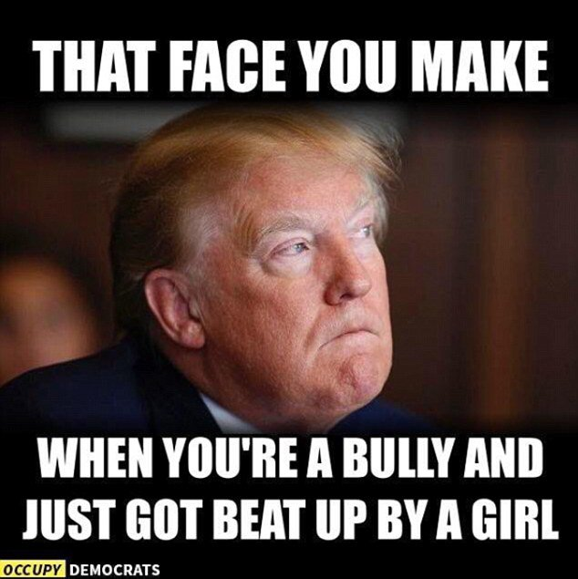 CtWZ9UVWAAAe7Lu the presidential debate sparked some fantastic memes scoopnest com