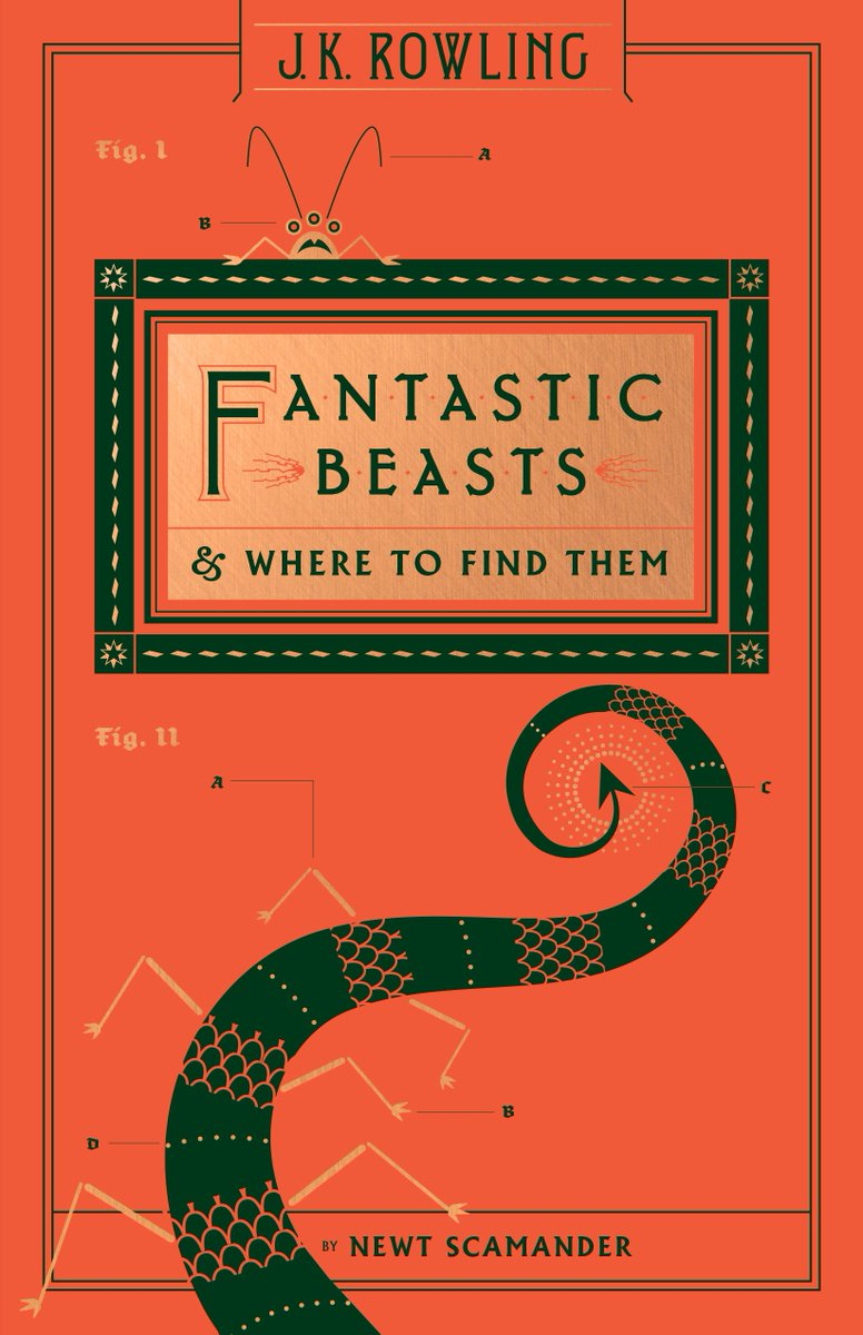 new #FantasticBeasts cover and new Hogwarts library box cover https://t.co/0oYT0hN07l