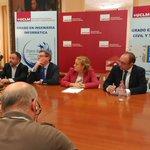 Rueda de prensa en @uclm_es sobre Sello de Excelencia #Euro-Inf, con @esiiab @esiuclm y rector @ma_collado https://t.co/8DfP8SypQS