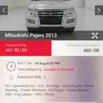 @emiratesauction It has Chassis damage. It can registration only at Dubai. You are not inform me. I am from Oman. https://t.co/wnIZeS1Fby
