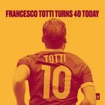 One man, one club, one legend—how 40-year-old Francesco Totti became the Emperor of Rome. #Totti40 https://t.co/iNlcopi5ff