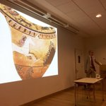 Thomas Mannack at The Makers Share workshop - Beware of Athenians Signing Pots! https://t.co/IwCBLIxYr8