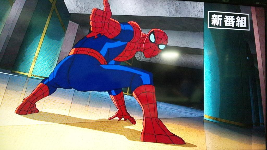 あれ?アベンジャーズの新作にもスパイダーマン再び登場でゲソ? #アルティメットスパイダーマン