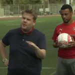 James Corden as the Arsenal coach 😂 https://t.co/FUobH9rSw5